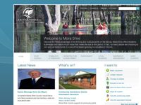 Moira Shire Council screen shot