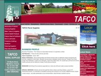 Tafco Rural Supplies screen shot