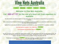 Vine Nets Australia screen shot