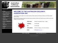 Australian Galloway Association Inc screen shot