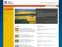 NSW Rural Assistance Authority screen shot