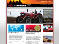 Mahindra Tractors screen shot