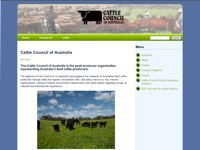 Cattle Council of Australia screen shot