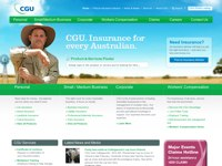 CGU Rural Insurance screen shot