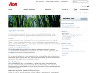 AON - Agribusiness screen shot