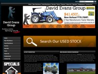 David Evans Group screen shot