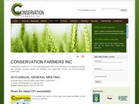 Conservation Farmers Inc. screen shot