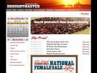 Droughtmaster Breeders Society screen shot