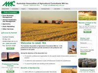 Australian Association of Agricultural Consultants (WA) screen shot