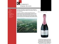 Currency Creek Estate Wines screen shot